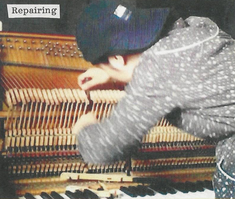 Repairing Pianos in China